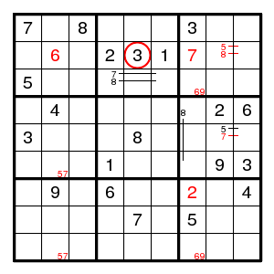 Solving sudokus - Backtrack