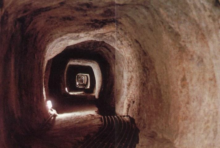 eupalinos tunnel Ανακαινίζεται «η μητέρα όλων των σηράγγων»