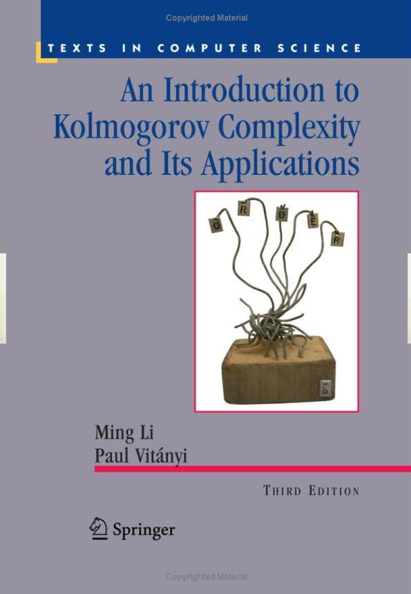 Kolmogorov complexity, Applications, MDL