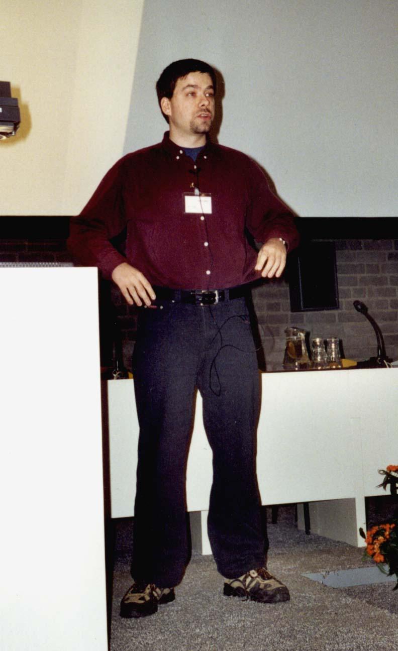 Pictures from QIP 2001 by Peter van Emde Boas