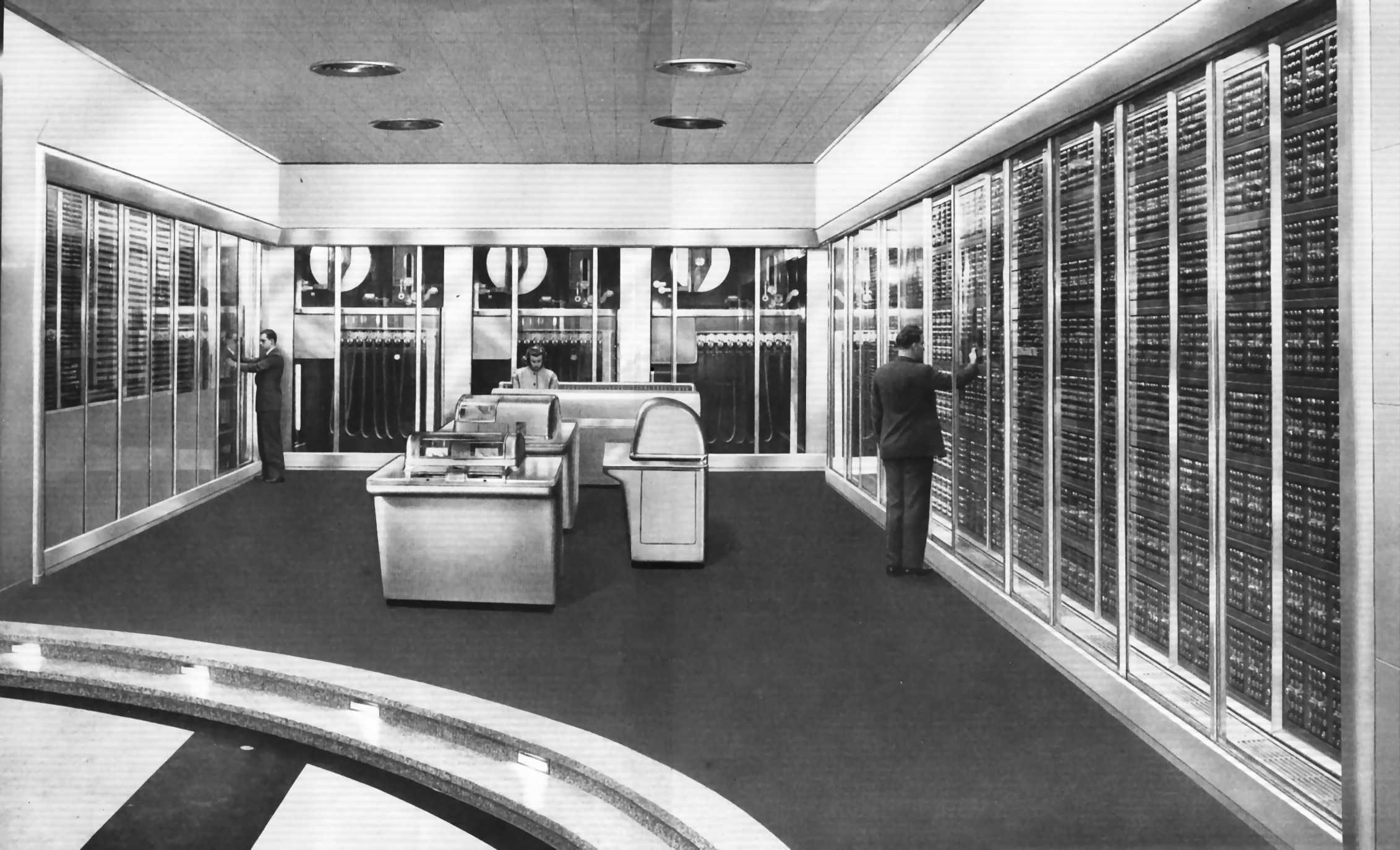 Timeline of computing 1950–1979