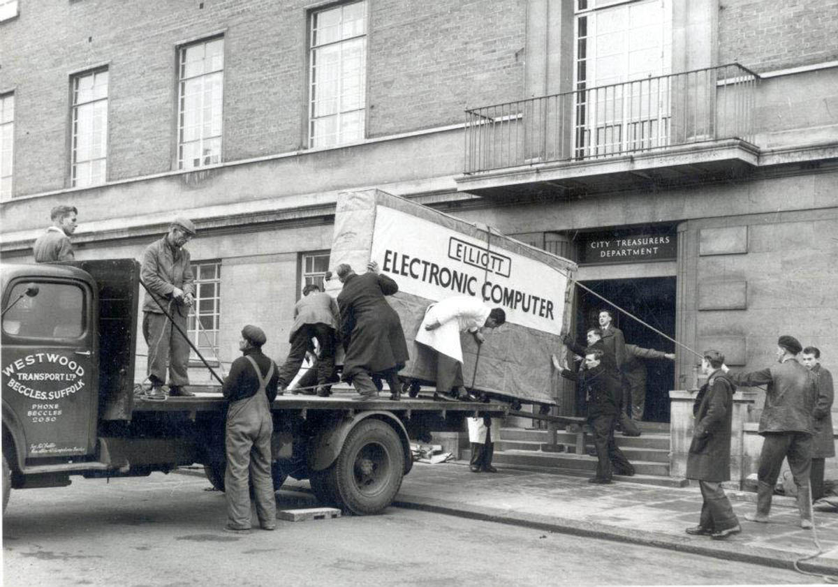 The First Computer in Norwich
