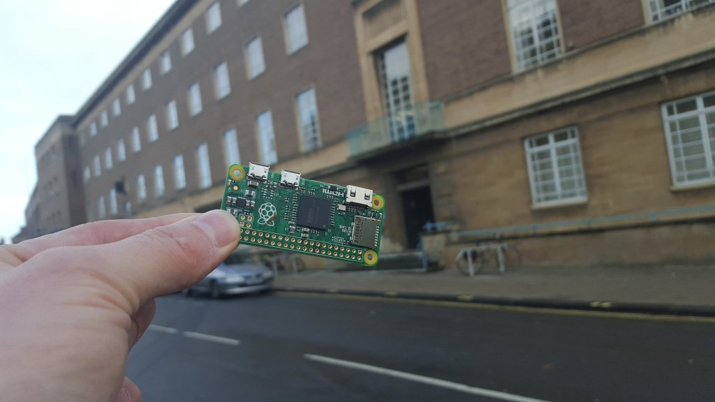 Raspberry Pi in Norwich